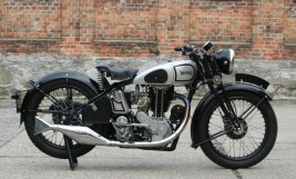 Norton ES2 500cc OHV 1935 -verkauft nach Japan-