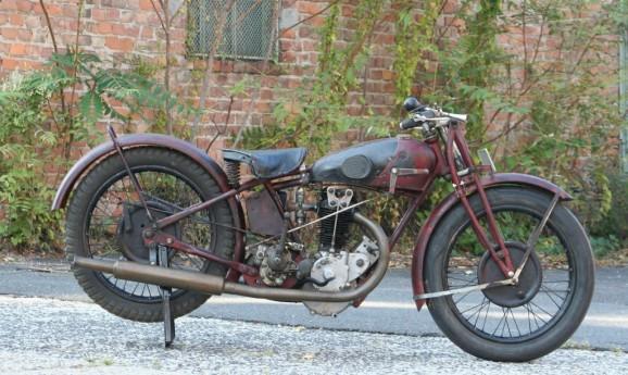 Rudge Whitworth 1928 500cc OHV -verkauft nach Belgium-