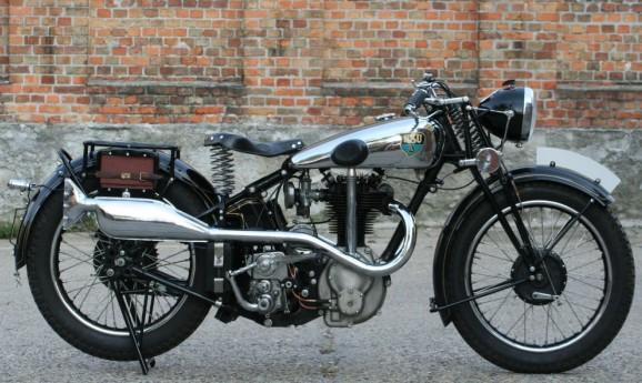 NSU OSL 500cc OHV 1936 -verkauft-
