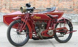 Indian Powerplus 1000cc Gespann 1918 -verkauft-