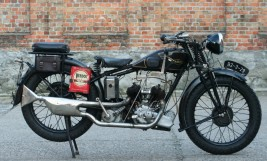 James 500cc V-twin 1930