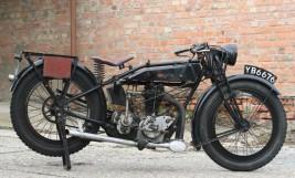 Rudge Standard 1927 500ccm 4 Ventile