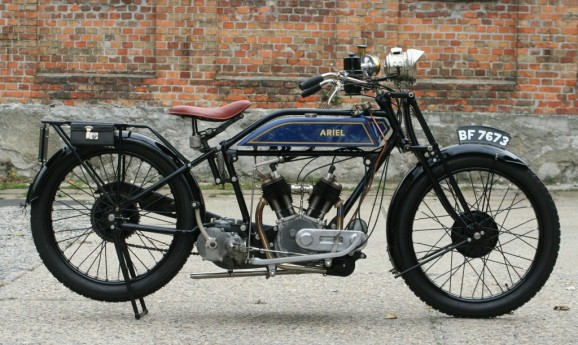 Ariel 1922 800cc 6/7hp V-twin