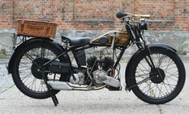 1928 James Model 12 500cc V-twin -VERKAUFT-