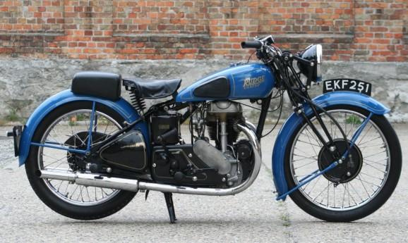 1938 Rudge Ulster 500cc ohv -verkauft nach Österreich-