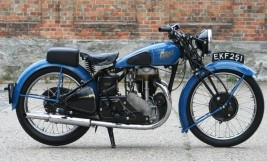 Rudge Ulster 500cc ohv 1938 -verkauft nach Österreich-