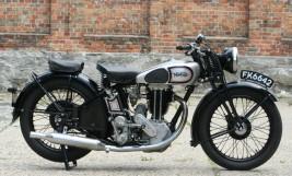 Norton Model 18 500cc OHV 1935 -verkauft nach Japan-