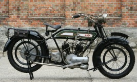 BSA 770cc V-Twin 1923