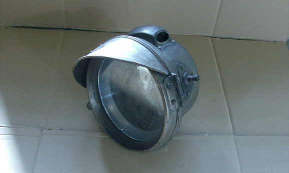 F.R.S. Birmingham Grosse Karbidlampe