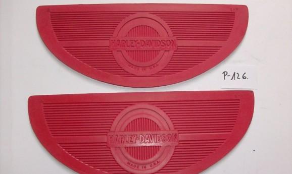 Harley Davidson Fussraster Gummi